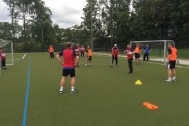 Fortbildung der Jugendtrainer beim KSC