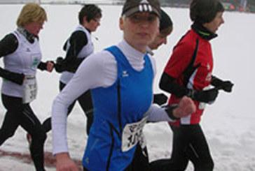 Andrea Gabriel gewinnt die Hammer Winterlaufserie