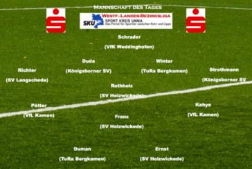 Mannschaft des Tages: Westfalenliga – Landesliga – Bezirksliga