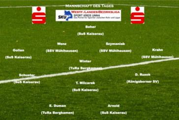 Mannschaft des Tages vom 24. März 2013: Landesliga und Bezirksliga