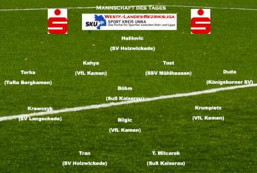 Mannschaft des Tages: Westfalenliga bis Bezirksliga