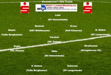 Mannschaft des Tages: Die Top-Elf aus der Westfalenliga-Landesliga-Bezirksliga