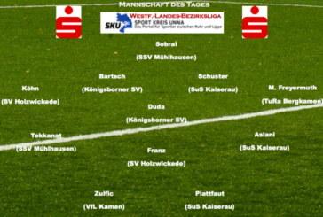 Westfalenliga-Landesliga-Bezirksliga: Die Top-Elf der heimischer Fußballer