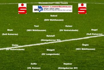 Mannschaft des Tages Westfalenliga bis Bezirksliga
