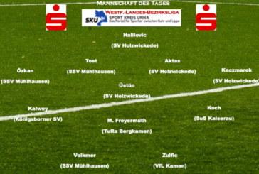 Mannschaft des Tages: Westfalenliga-Landesliga-Bezirksliga vom 12. Mai