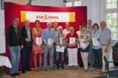 Kreissportbund Unna ehrt die Sieger im Sportabzeichen-Wettbewerb 2012