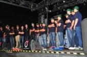 Mannschaftspräsentation der Bulldogs auf dem Stadtfest ein voller Erfolg