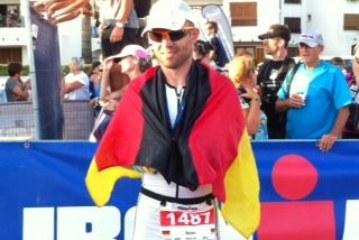 """Martin Dellbrügge """"meistert"""" die Strapazen beim Ironman auf Mallorca"""