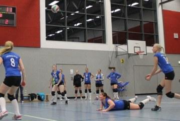 KSV-Volleyballer wieder Spitzenreiter