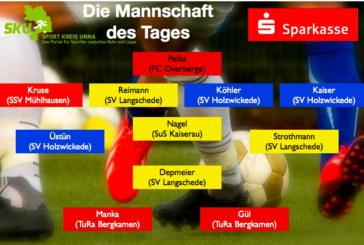 Das Top-Team unserer höherklassigen Fußball-Teams
