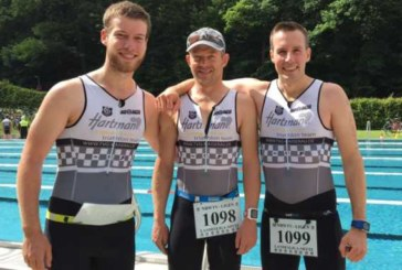 Hartman-Triathleten beim Landesliga-Wettkampf in Altena am Start