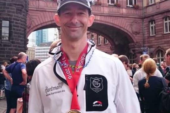 Stefan Koske finisht erfolgreich seine erste Langdistanz beim Ironman Frankfurt 2016