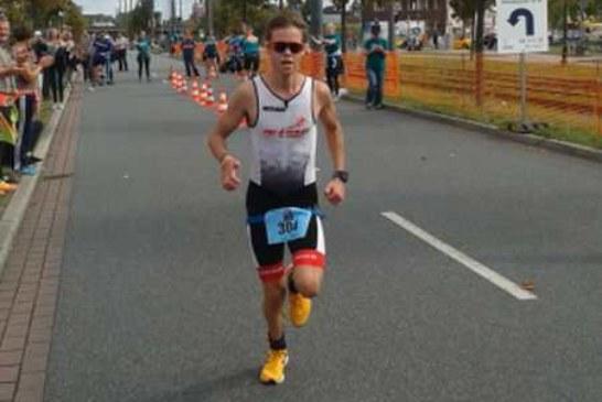 Jonas Deimann kann auch Triathlon