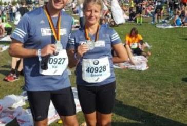 Drei Läufer des TLV Rünthe beim Berlin Marathon dabei