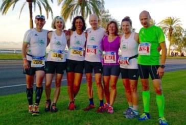 """SuS-Leichtathleten """"folgen der Sonne"""" beim Mallorca-Marathon"""