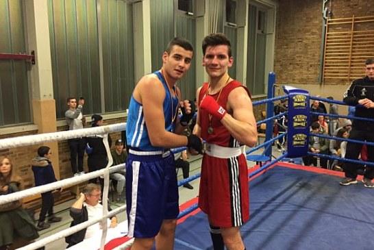 Mittelgewichtler Tommy Schafran Box-Kreismeister