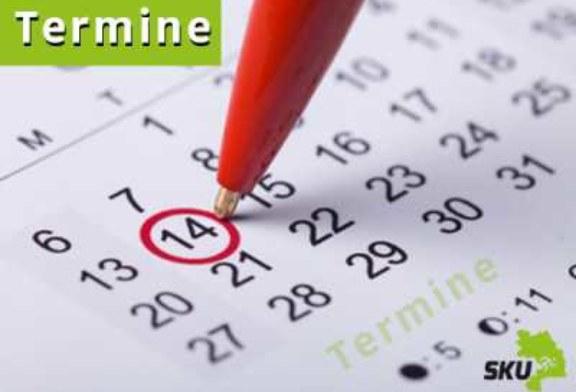 Sportprogramm vom 28. April bis 01. Mai