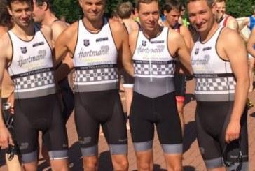 Hartman Triathlon Team startet mit 7. Platz in die Verbandsliga