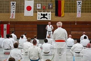 50jähriges Bestehen des Yuishinkan Karate Do in Deutschland – und Fritz Nöpel ist noch mittendrin