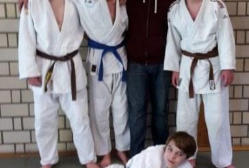 U16Mannschaft des Judo Club Holzwickede Tabellenführer Bezirksliga Arnsberg