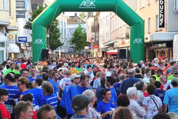 13. Unnaer AOK-Firmenlauf: Freude am gemeinsamen Laufen und der Spaß im Team stehen wieder im Vordergrund.