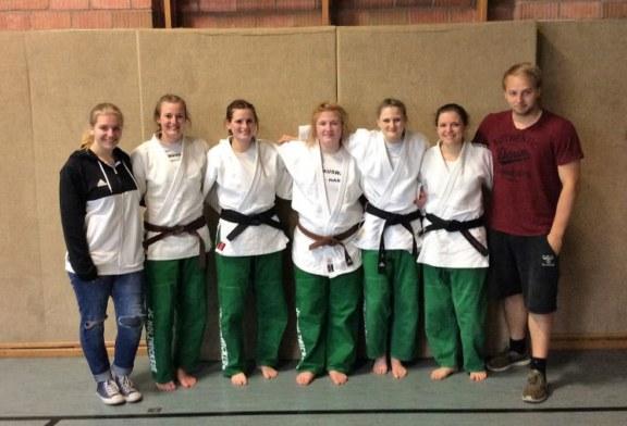 Judo-Amazonen des JCH mit gelungenem Start in die Verbandsliga