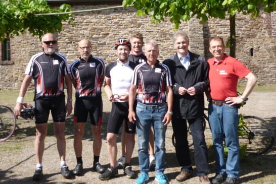 Radsport-Treff der Tourenfahrer aus dem Bezirk Westfalen-Mitte auf Haus Opherdicke