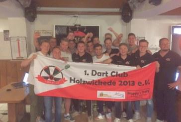 1. Dart Club Holzwickede schafft in seiner ersten Saison Aufstieg