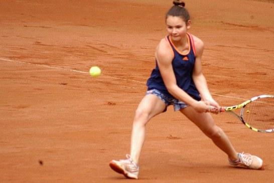 """""""Großes Tennis"""" bei den 1. UN-OPEN juniors – Paula Rumpf und Magnus Langer siegen"""