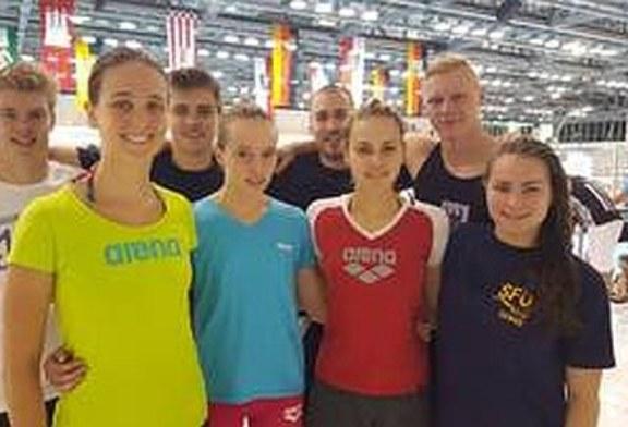 SFU-Staffeln behaupten sich bei den Deutschen Meisterschaften