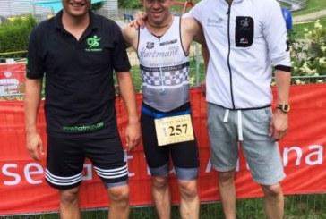 Hartman-Triathlon-Team des TVG Kaiserau belegt 14. Platz beim dritten Verbandsligastart in Altena