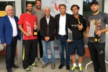 Kamen open: Das deutsche Duo Peter Torebko/George von Massow gewinnen die Doppelkonkurrenz