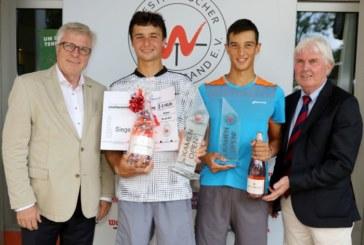 2. Kamen Open: Alexander Vasilenko (Russland) holt sich den Turniertitel – Im vom Regen geprägten Finale unterliegt Vorjahresfinalist Antoine Hoang