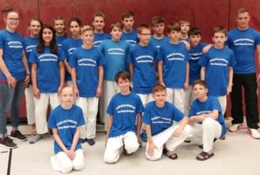 U15 Judo-Mannschaft Kreis Unna-Hamm-Dortmund erreicht n fünften Platz beim Westfalen-Cup 2017