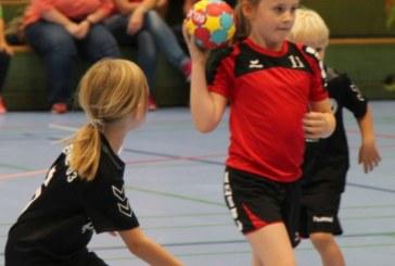 Minispielfeste finden im Handballkreis Hellweg großen Anklang