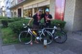 Markus Deuse und Martin Delbrügge finishen Ironman Hamburg