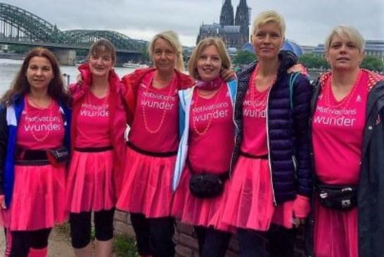 Sechs LTU-Läuferinnen zeitgleich im Ziel beim Kölner Women's Run
