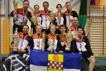 Vier Goldmedaillen für deutsche Teams bei der Indiaca-WM im polnischen Rozogi