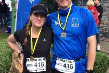 Laufstationen vom Lauf Team Unna: Berliner Mauerweglauf – Monschau-Marathon und Bergkamener Dorndellen-Marathon