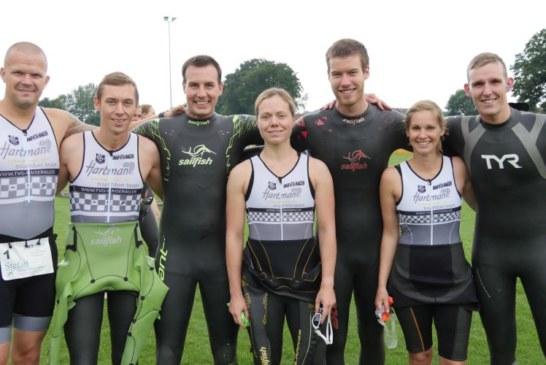 Hartman-Triathleten trumpfen in Rheine auf