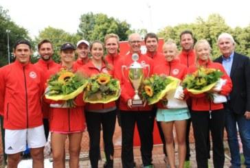 Der Westfälische Tennis-Verband ist Deutscher Mannschaftsmeister