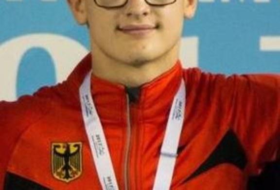 Adam Karas holt drei Mal Gold bei den Europäischen paralympische Jugendspielen
