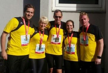 Familienduell beim Köln Marathon