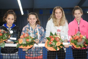 58. Westfälische Tennis-Jugend-Hallenmeisterschaften: Paula Rumpf siegt in der U14-Altersklasse