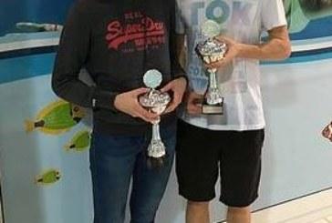 Nina Darenberg und Thorben Grzanna holen SFU-Sprintpokale