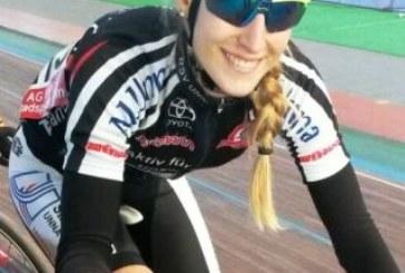 Franzi Koch ist erste deutsche Sportlerin mit DM-Titeln auf der Straße, MTB und auf der Bahn innerhalb eines Jahres