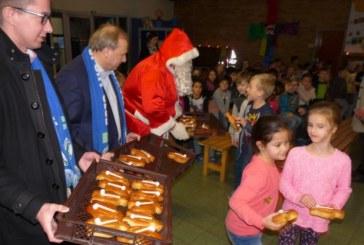 HSC kommt mit dem Nikolaus und Stutenkerlen