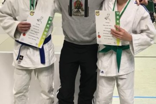 Turniersieg für Jaron Schankat, Patrick Lausmann und Jona Schmidt
