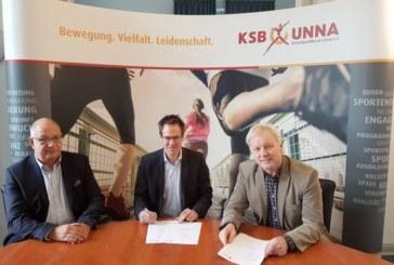 KreisSportBund Unna besiegelt Kooperation mit der Hochschule für angewandtes Management am Hochschulcampus Unna