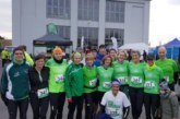 "16 Läufer des SuS Oberaden beim ""3. Lauf am Förderturm"" am Start"